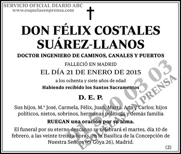 Félix Costales Suárez-Llanos